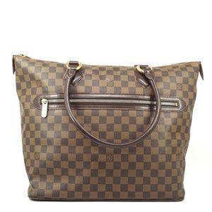 Auth Louis Vuitton Damier Saleya Gm Tote #1091L36